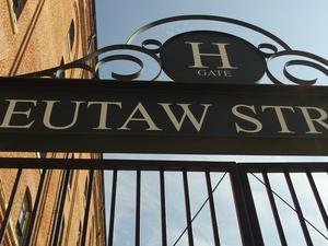 Eutaw Street Gates